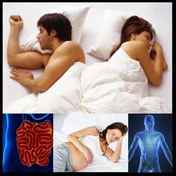 Dormir com o corpo do lado esquerdo é o melhor