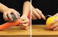 6 Truques Inteligentes Para Descascar Os Alimentos Mais Facilmente!
